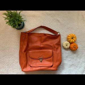 🌟BANANA REPUBLIC genuine leather Melissa hobo